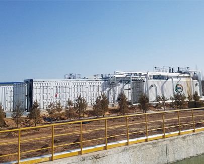 DTRO technology for reuse of high salt wastewater in coal-chemical industrial park—Shanxi province