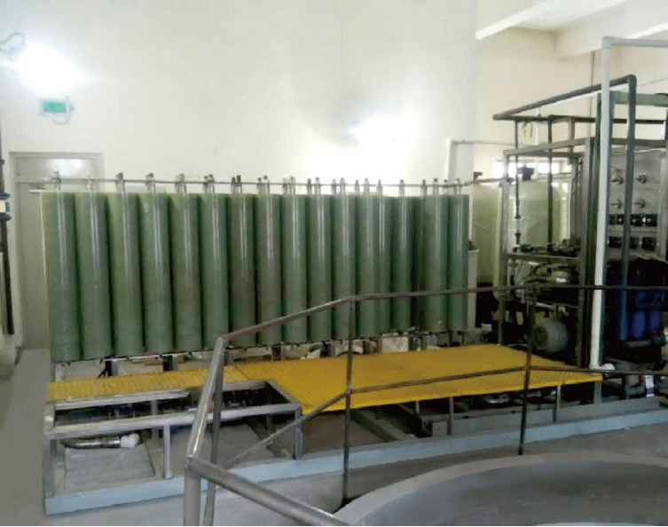 Flue gas desulfurization (FGD) wastewater treatment project